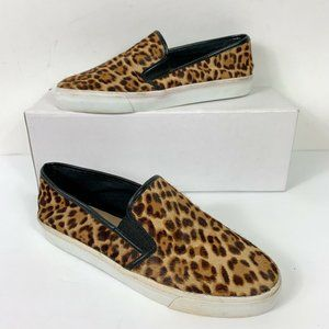 Banana Republic Leopard Print Slip On Shoes Sz 8.5